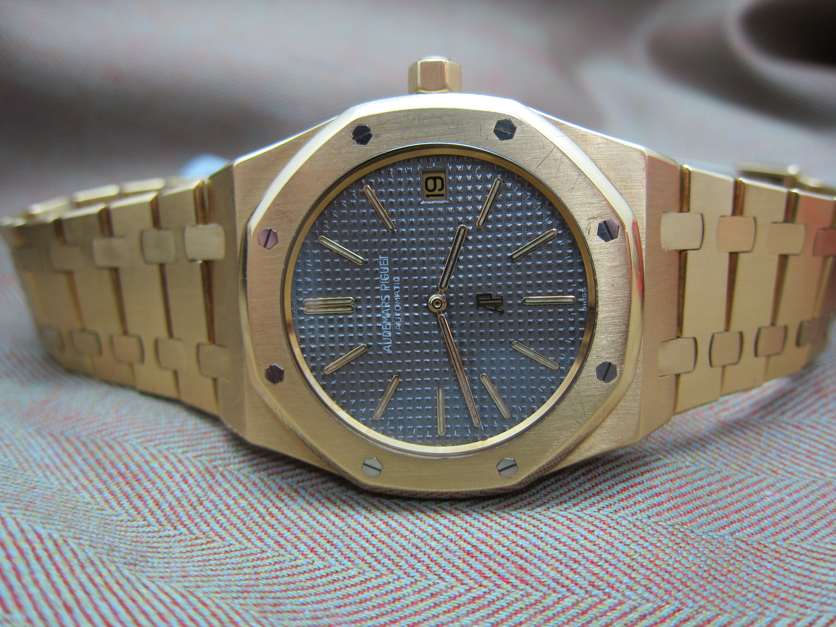 5402 yellow gold royal oak