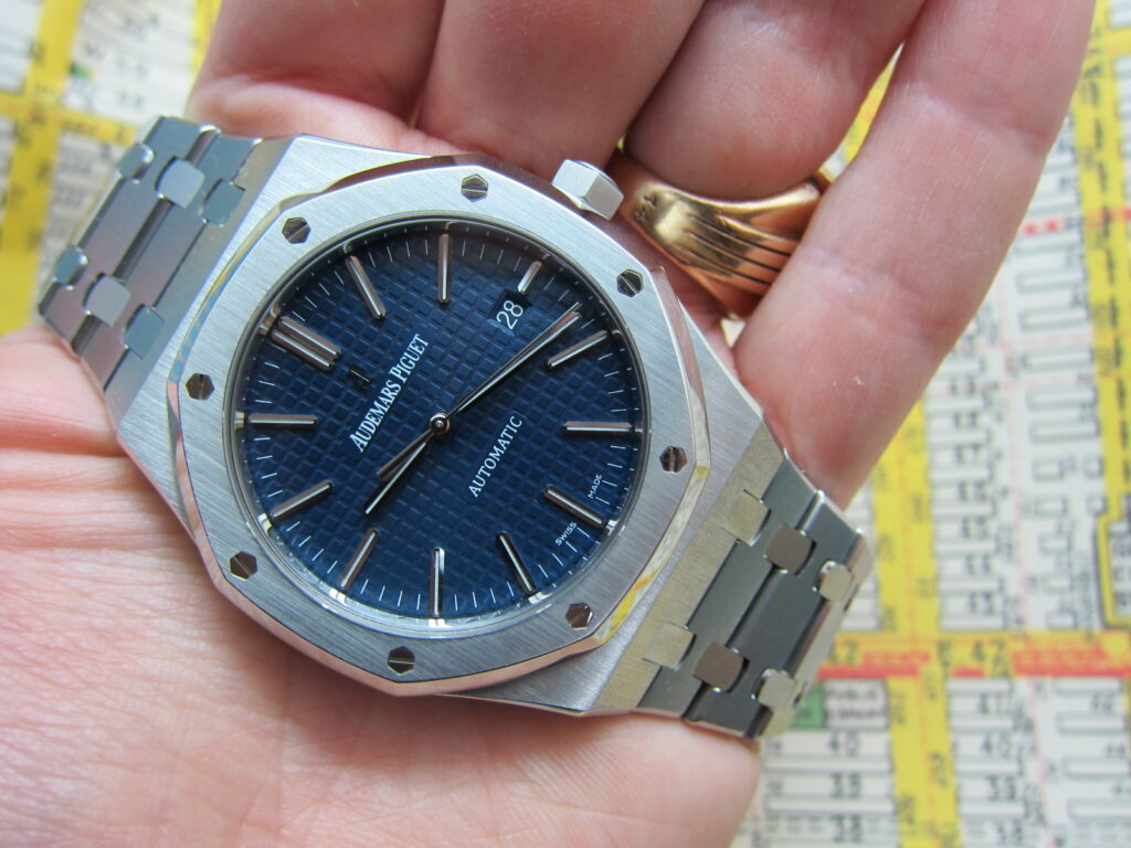 blue dial 15400 boutique edition